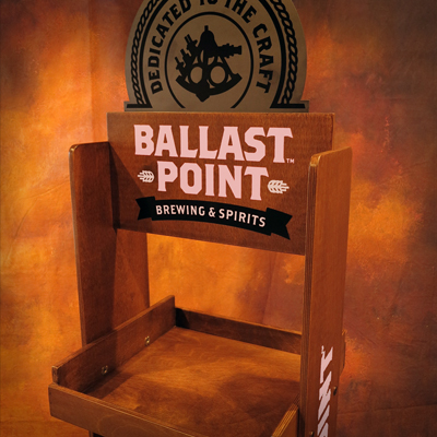 Ballast Point Retail Display