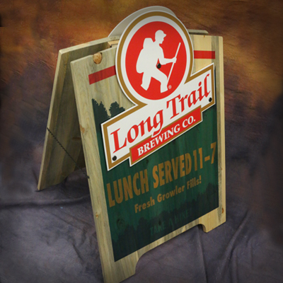 Long Trail Menu Board